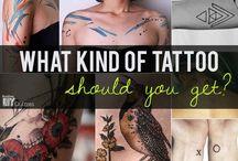 Tattoos / by TH△T WEIRD GIRL