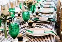 Entertaining / Bright, colorful and creative ways of decorating when expecting guests.  / by Eszter Czibok Designs