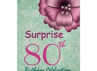 Birthday Parties - SURPRISE - 80th Surprise Birthday Party! / by JaclinArt