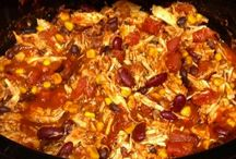 chicken taco chili / by Leslie Shepard