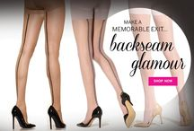Backseam Glamour / What could be sexier or more seductive than a pair of backseam hosiery? / by Silkies Hosiery