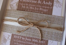 Wedding Invitations / by Coast to Country Weddings
