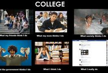 College / by Nicole Lentine