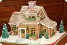 Gingerbread houses / by Janneane Gerot