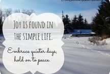 All about simple living / by Our Simple Life SC