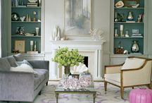 Decor - Living Rooms / I want it to be like a hotel, like I'm going on vacation each and every day! / by Linh Nguyen