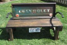 bench ideas / by Pam Taylor