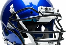 Football Gear / The latest helmets and facemasks to provide the best protection along with cleats, pads, gloves and more to help you perform at your best on the gridiron. / by Sports Unlimited
