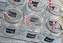 Mason Jar Party Ideas / by The Pint and a Half