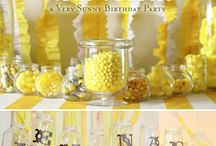 Yellow Party Inspiration / by Sassaby DIY Printable Parties