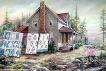 Art - Paula Vaughan / by Mary Roberts