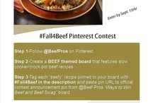 #Fall4Beef / Fall Equals Slow Cooker Recipes  / by Barbara Ryan