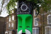 urban interventions / Street art. / by Bram van Rijen