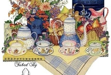 Illustration-tea time / by Ar Yu
