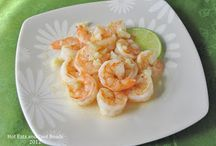 The Ocean / Shrimp. Fish. Crawfish.  / by Frisby Angela