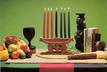 "Kwanzaa / Kwanzaa is an African American and Pan-African holiday which celebrates family, community and culture. Celebrated from 26 December thru 1 January, its origins are in the first harvest celebrations of Africa from which it takes its name. The name Kwanzaa is derived from the phrase ""matunda ya kwanza"" which means ""first fruits"" in Swahili, a Pan-African language which is the most widely spoken African language http://www.officialkwanzaawebsite.org/index.shtml / by Edelmira Brown"
