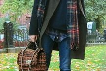 Mad for plaid / Love love love anything plaid. It is so warm, colorful, and cozy.  / by June Geesey