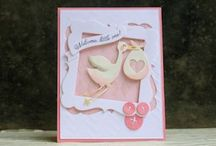 Baby Cards / Baby congratulation / Welcome cards / by Marg Mortimer