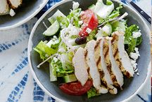 Salad Recipes / by Elizabeth Popielarz