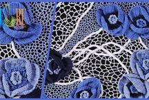 Irish and Guipure Crochet  Lace / by SHERU Knitting