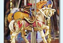 Carousel Horses! / by Carol Goff-Reese