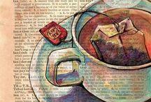 Everything Tea / Tea art  / by Rebekah Meier