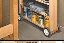 Workshop / Rolling shelf / by Scott Carter