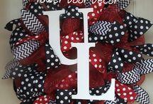 U of L wreaths / by Angel Myers