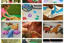 Everything Dinosaurs / Everything Dinosaurs-Crafts, activities, recipes and more! / by Capri + 3