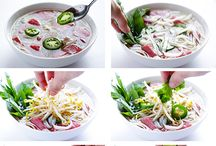 Vietnamese recipes / by Hannah Victoria