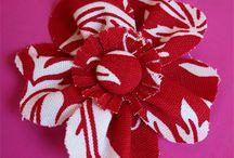Fabric Flowers / by Amanda Niederhauser/Jedi Craft Girl