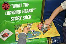 Story Sacks / by Amanda Tervoort (First Grade Garden)