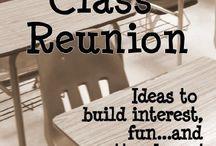 Class Reunion Deco / by Kay Bowman