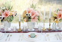 Tablescapes / by Café Catering and Events