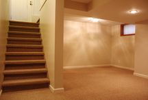 basement rooms / by Charlene Hansen