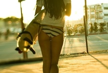 girls w longboards / by Renee Lorenzo