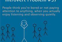 Introverted Me / by Krystal Vinson