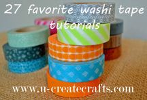 Washi tape / Ways with washi / by Rosemary Merry