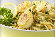 Food: Entrees: Scallops / by Char Gust