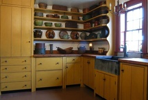 ~Primitive Kitchens~ / ~These are some images of some wonderful primitive kitchens~ / by ~Yesterday Once More~
