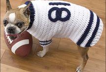 Doggie sweaters! / all doggie sweaters to inspire me to knit for my doggie! / by Dianne Shiozaki