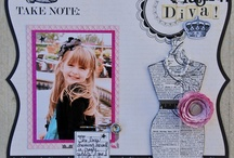 scrapbooking / by Cindy Anderson