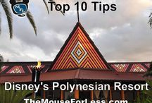 Disney's Polynesian Resort / by The Magic For Less Travel - Specializing in Disney and Universal Vacations