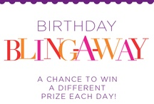 lia sophia birthday bling-a-way / This month we are celebrating our birthday and we want you to receive the presents! Enter our birthday bling-a-way each day for a chance to win. Sweepstakes runs May 27 - June 24, noon CT. Official rules on entry form. http://on.fb.me/18pWyEK  / by lia sophia