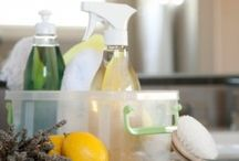 Organic cleaning / by Ashley @ A Crafty House