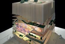 Architecture models / by Gisela Oliveira