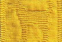 knitted dishcloths / by Karen DeWar