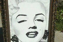 This is what I do / Crushed German Glass Portrait's By Stephani Chandler http://www.divineaddictions.com  / by Stephani Chandler
