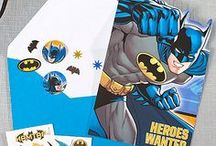 Batman Party Ideas / Save the day with an action-packed birthday party! From play room to Batcave in a snap! Balloons, chair covers, table décor, games--our party ideas have it all for the ultimate Batman party! / by Party City