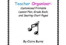 Classroom and Teacher Organization / by Amanda Moore